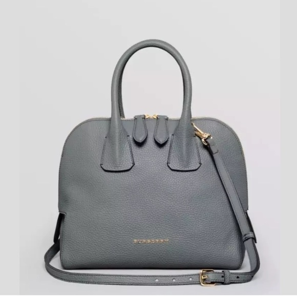 Burberry Handbags - Burberry Satchel- Grainy Leather Small Bowling Bag 5e40b1a9904d7